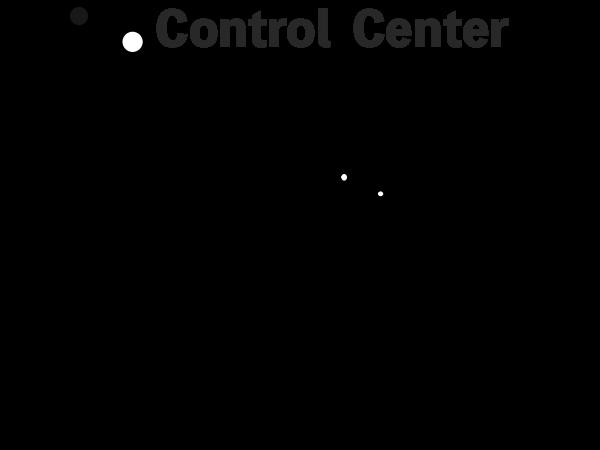 コントロールセンターをショートカットで呼び出す